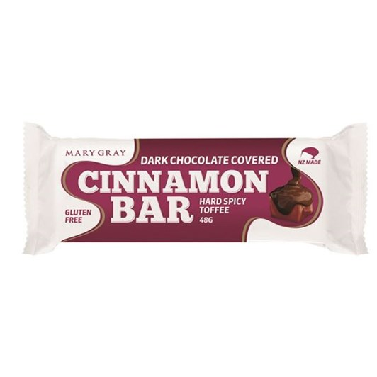 Mary Gray Chocolate Coated Hard Cinnamon Bar