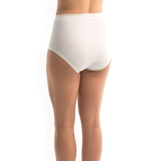 Triumph Cotton and Lace Full Figure Briefs