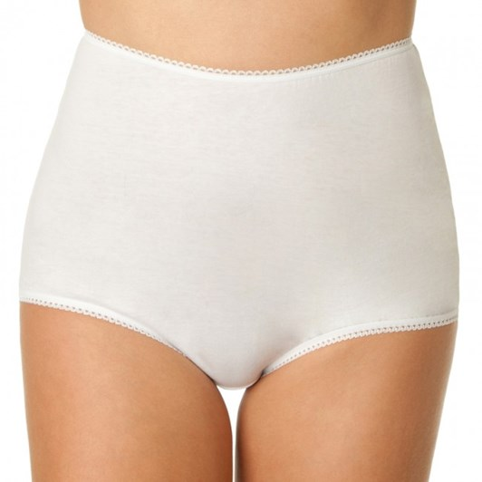Bendon Control Poly Cotton Full Briefs