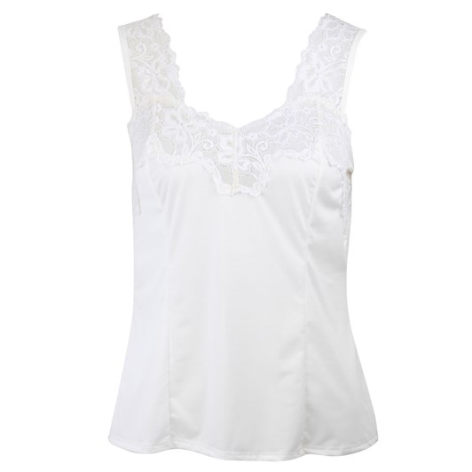 Essence Singlet Style Cami Cutaway Lace