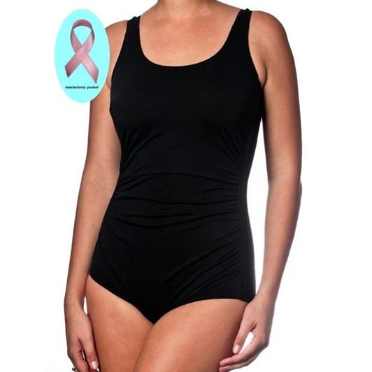 Pool Proof Mastectomy Pintuck Swimwear