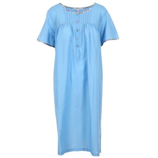 Felicity Sinclair-Lockhart Jane S/S Nightdress 3/4 Round Neck Liberty Trim