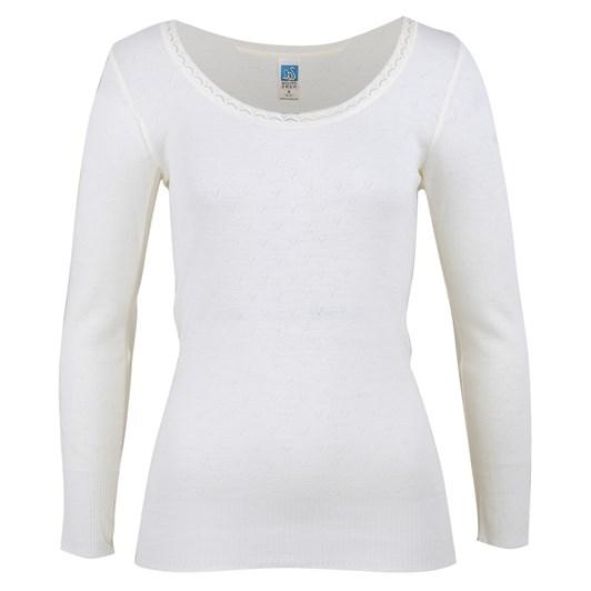 White Swan Merino Top Long Sleeve