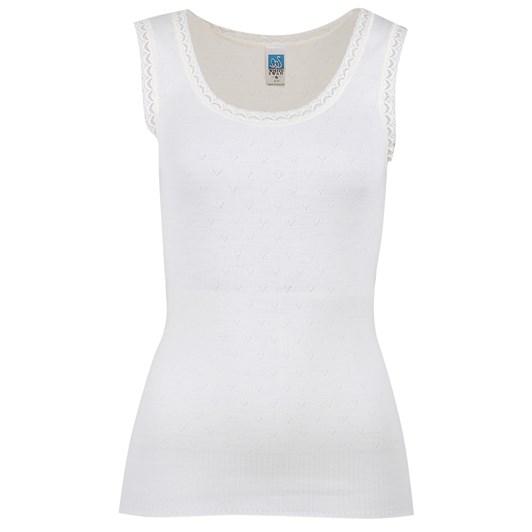 White Swan Merino Vest S/S