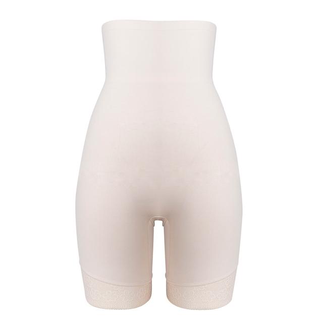 Hush Hush Smooth Lace Thigh Shaper - nude