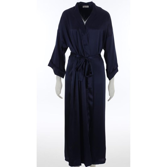 Essence Liquid Satin Long Robe