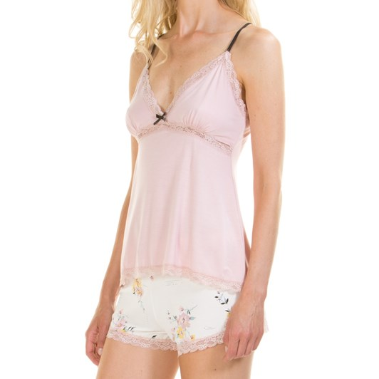 La Marquise Eastern Garden Shorts Set