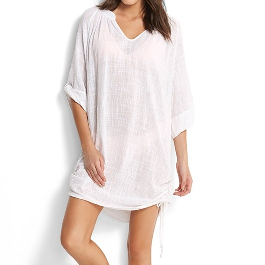 Seafolly Textured Gauze Cover Up