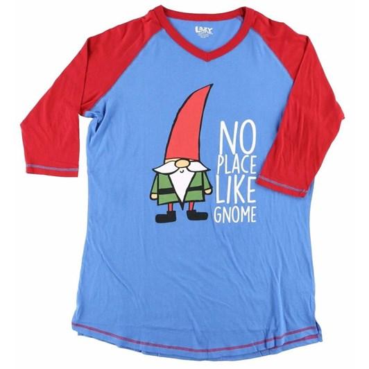 LazyOne No Place Like Gnome PJ Tall T-Shirt