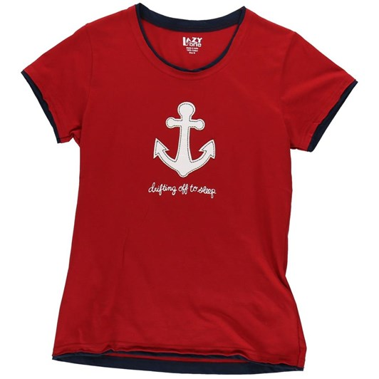 LazyOne Drifting Off To Sleep Fitted PJ T-Shirt