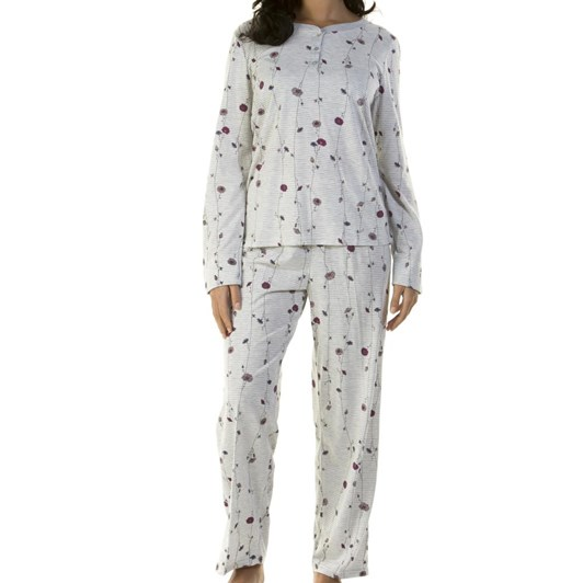 La Marquise Poppy On Stripes L/S Pj Set