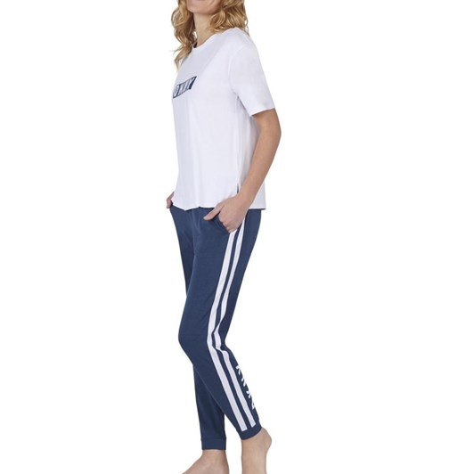 DKNY Graphic Content Tee & Slim Jogger Set