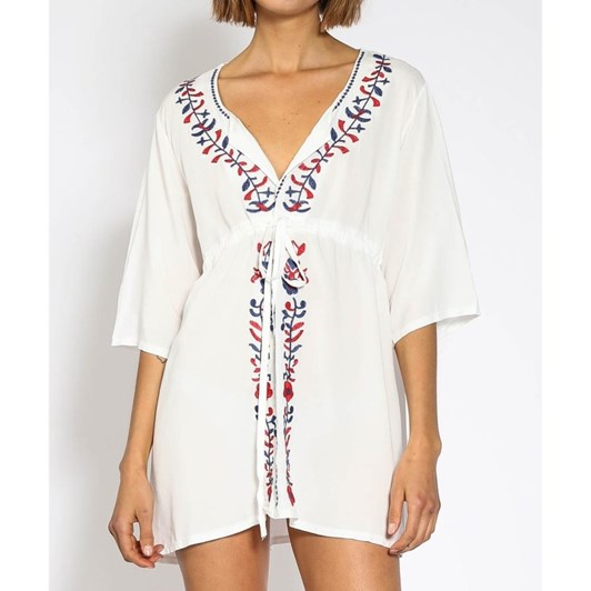 Piha Embroidered Tunic