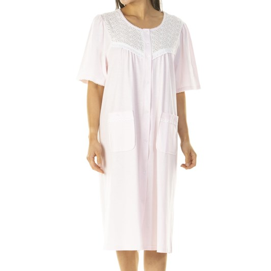 La Marquise Button Through Nightdress