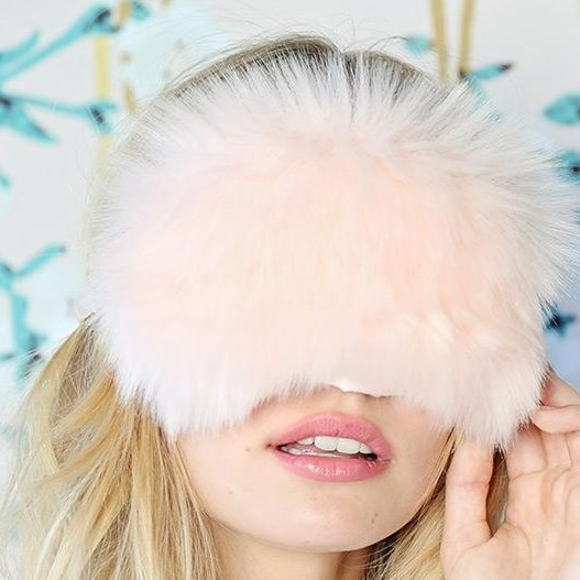 Papinelle Fluffy Eye Mask