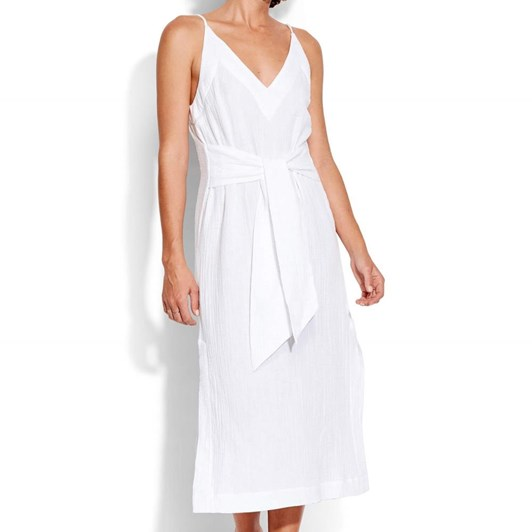 Seafolly Tie Front  Slip Dress