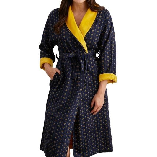 Baksana Paris Lined Shawl Robe