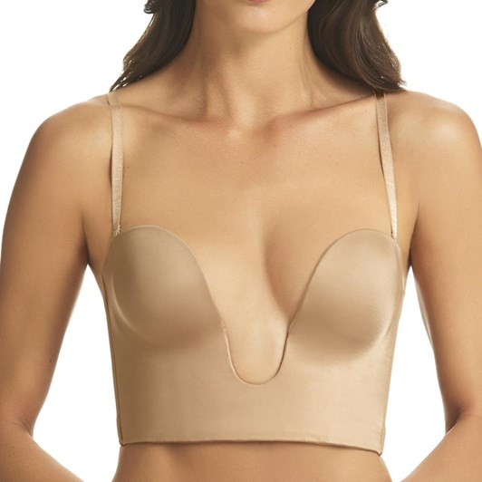 Fine Lines 4 Way Strapless Convertible Plunge Bustier