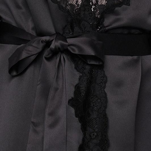 Ralph Lauren Satin Lace Kimono