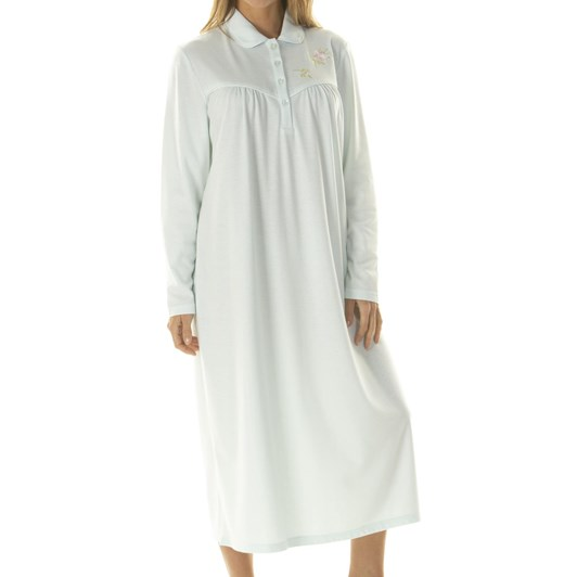 La Marquise Fleurette Long Sleeve Classic Nightdress