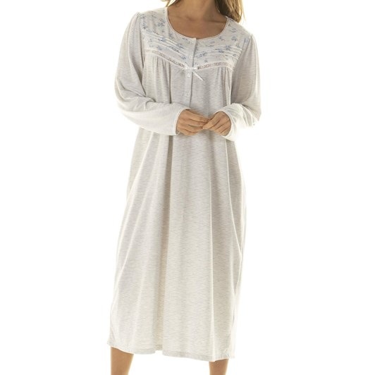 La Marquise Promenade Long Sleeve Nightdress