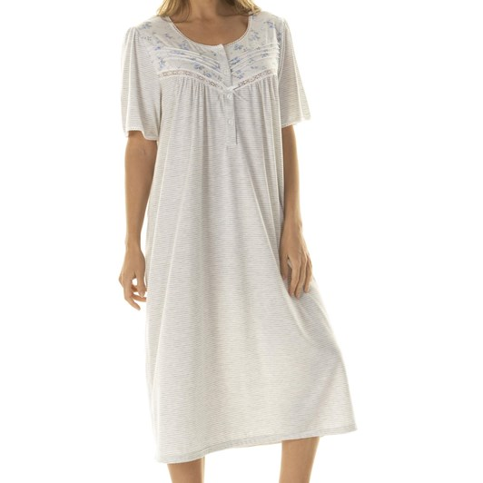 La Marquise Promenade Short Sleeve Nightdress