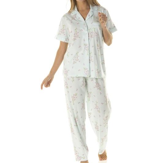 La Marquise Primrose In Bloom Short Sleeve Pyjamas
