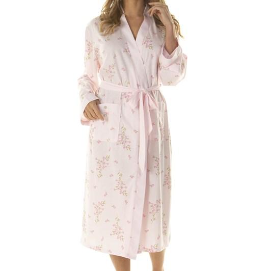 La Marquise Primrose In Bloom Wrapover Robe