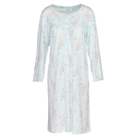 La Marquise Primrose In Bloom Long Sleeve Nightdress Long Length