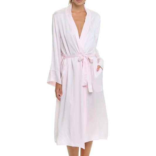 Papinelle Pure Silk Long Robe