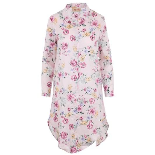 Papinelle Fleur Pink Long Nightshirt