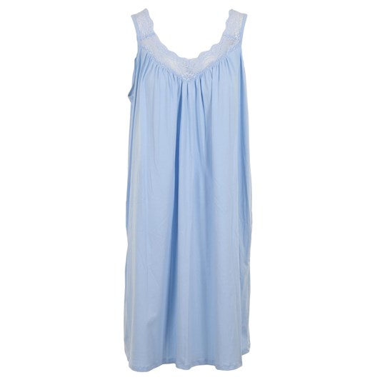 Essence Nightgown W  V Lace