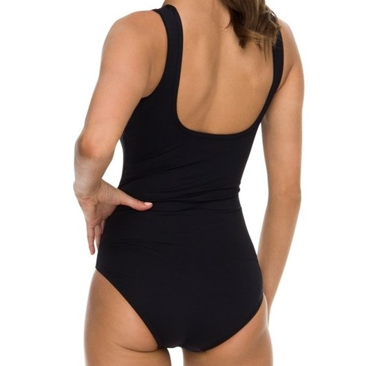 Jantzen Belladonna Mesh High Neck Mast 1Pc