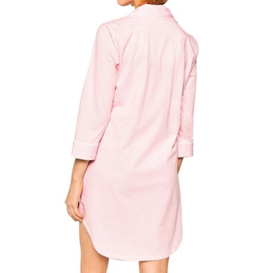 Lauren Ralph Lauren Essentials 3/4 Sleeve Roll Cuff His Sleepshirt