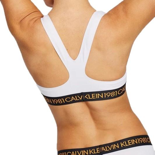 Calvin Klein Bold 1981 Cotton Unlined Bralette