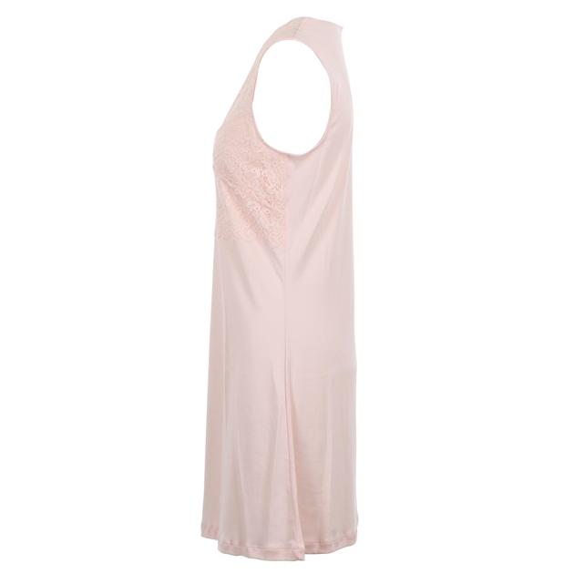 Hanro Moments Sleeveless Nightdress 90Cm - crystal pink