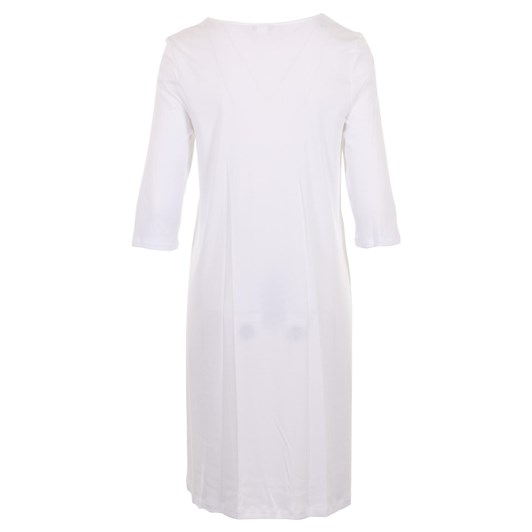 Hanro Moments 3/4 Sleeve Nightdress 100Cm