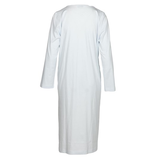 Cottonreal Super Mercerised Jersey L/Slv Soft V Nightdress