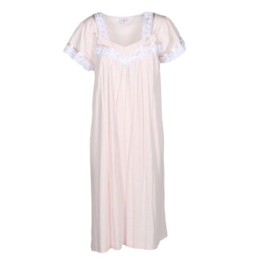 Cottonreal Super Mercerised Jersey Cap Slv V Nightdress