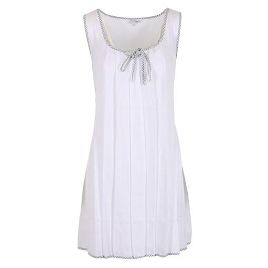 Cottonreal Antiqueflora Jaq Stripe Sweetheart Keyhole Tie Chemise