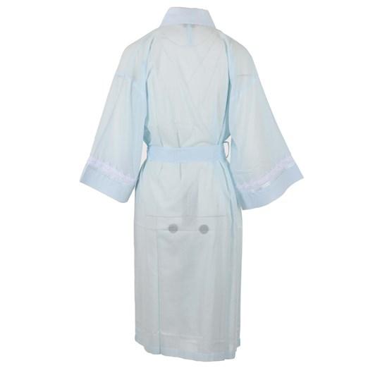 Cottonreal Deluxelawn Jaq Tramline Stripe Kimono Wrapover
