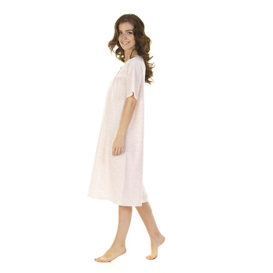 La Marquise Lavish Leaves Short Sleeve Nightdress