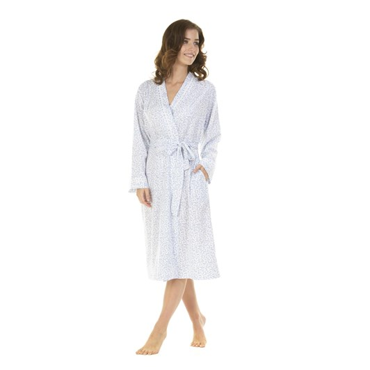 La Marquise Lavish Leaves Wrapover Robe