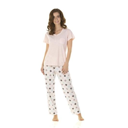 La Marquise Marshmallow Dots Short Sleeve Pyjama