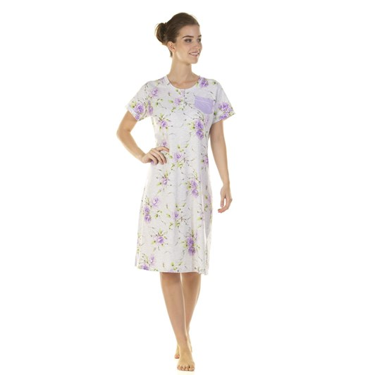 La Marquise English Rose Short Sleeve Nightdress
