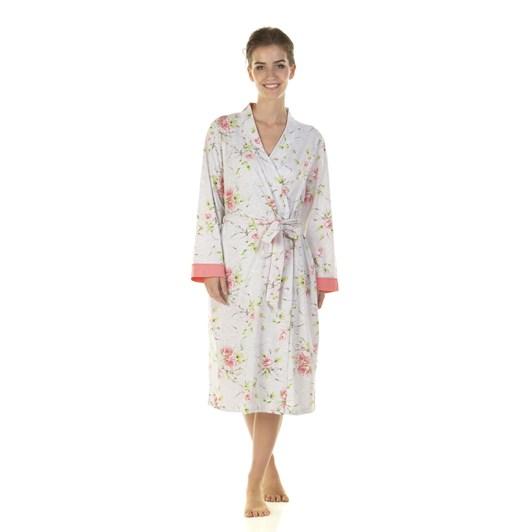 La Marquise English Rose Wrapover Robe