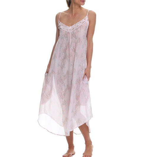 Papinelle Falling Blossom Pink Maxi Nightie