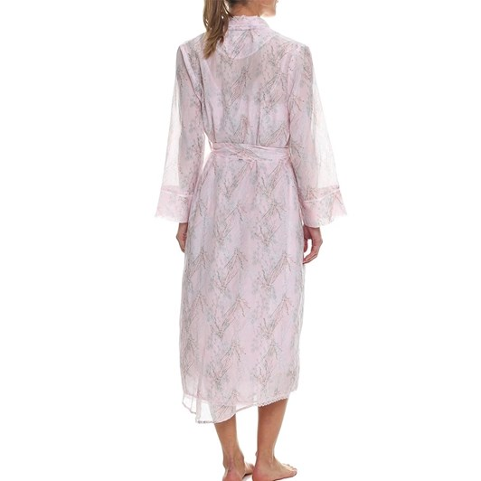 Papinelle Falling Blossom Pink Maxi Robe