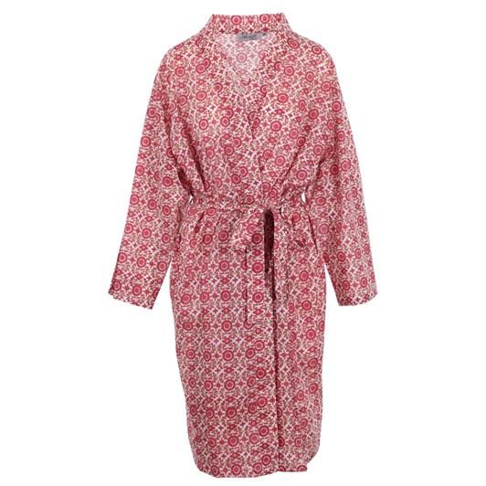 Arabella Red Aztec Print Robe