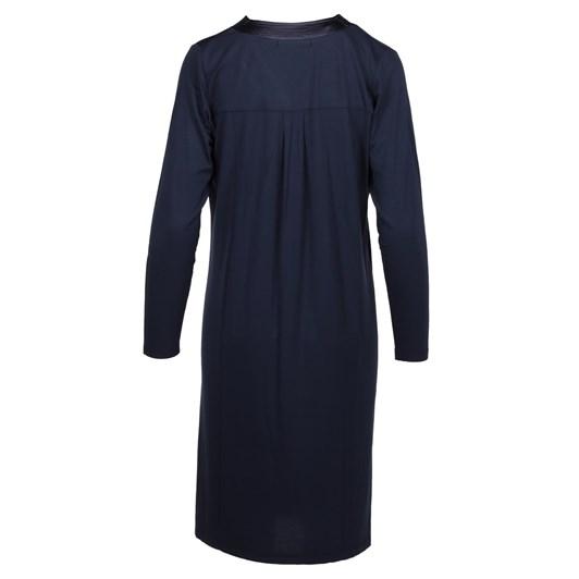 Yuu Winter Garden Satin Trim Dress